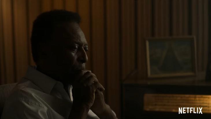 Pelé no documentário da Netflix