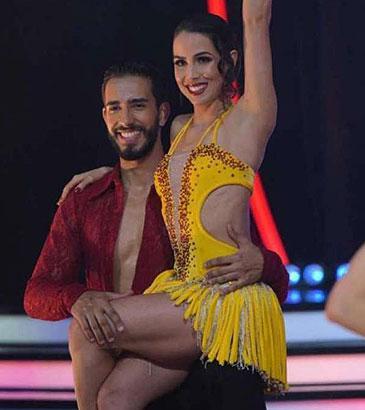 """Pérola Faria despista sobre namoro no \""""Dancing Brasil\"""": \""""tá todo mundo se conhecendo melhor\"""""""