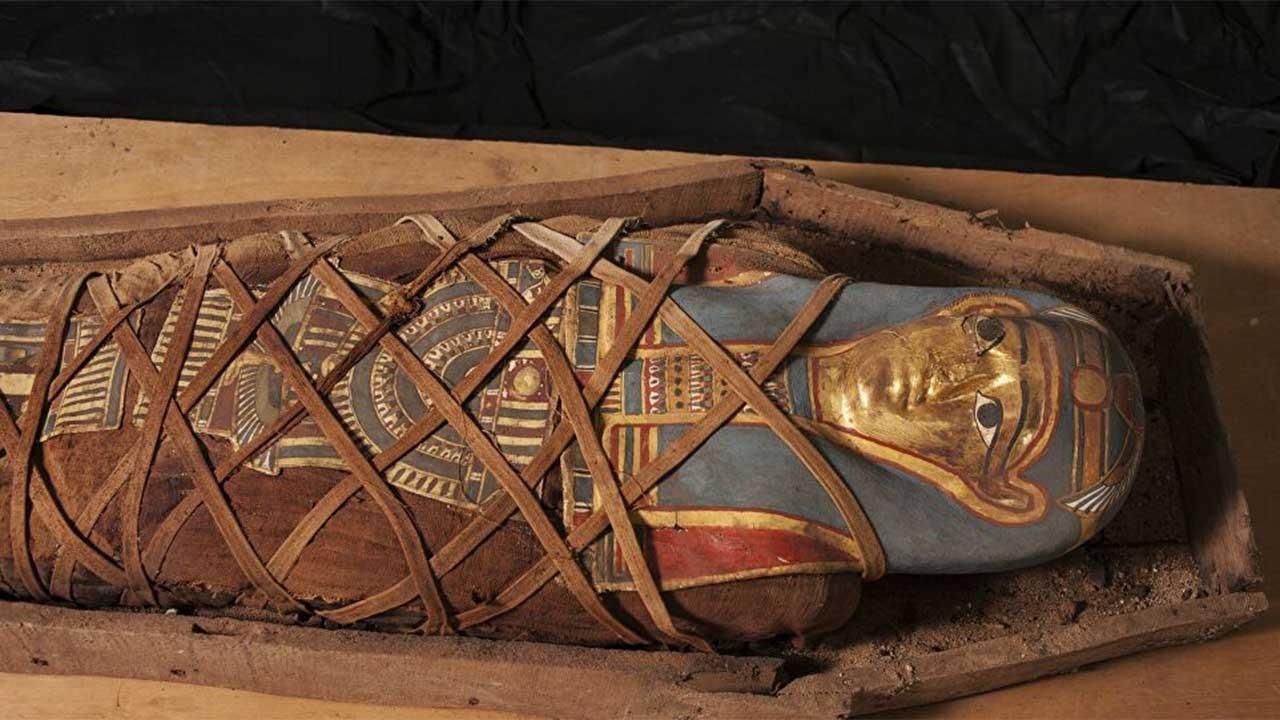 Sarcófago de múmia