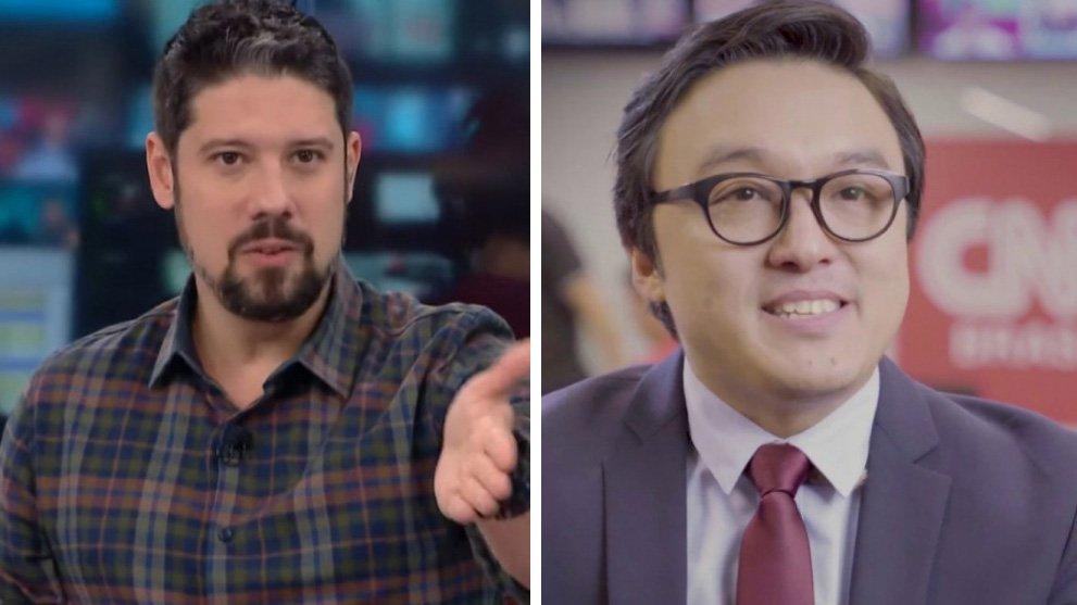 Phelipe Siani e Fernando Nakagawa na CNN Brasil