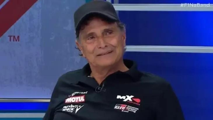 Nelson Piquet participa da estreia da Fórmula 1 na Band