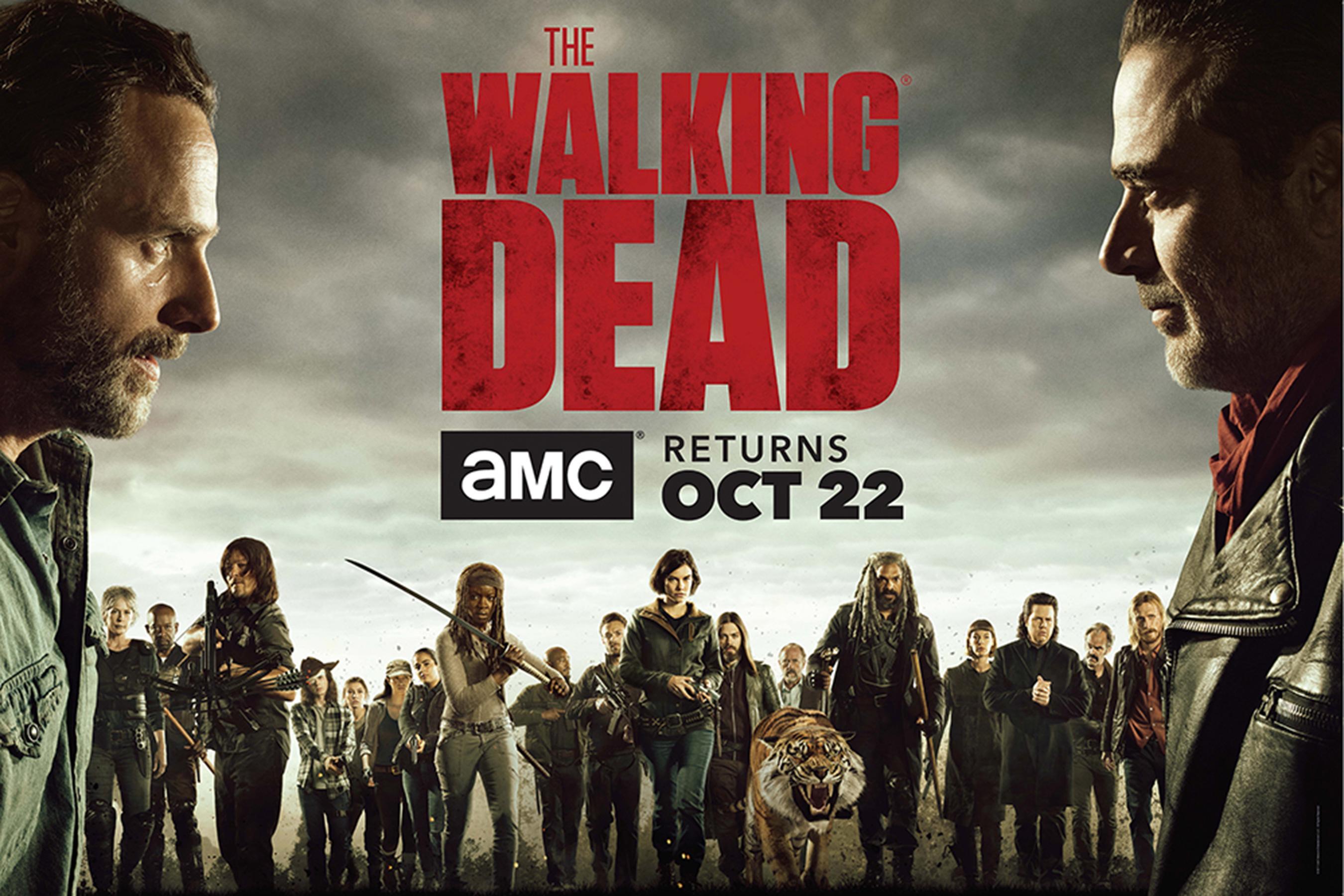 """Fox confirma data de estreia da oitava temporada de \""""The Walking Dead\"""""""