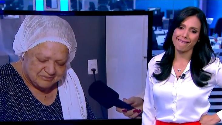 Márcia Dantas e entrevistada