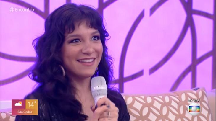 """Priscilla Alcântara no """"Encontro com Fátima Bernardes"""""""