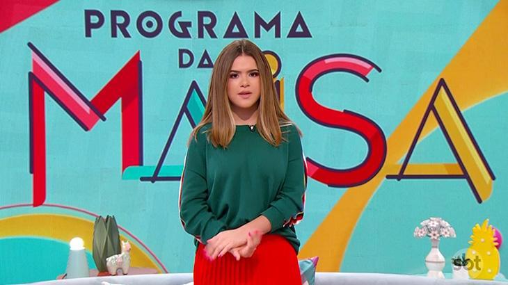 Maisa bate a Globo em estreia de seu programa no SBT e bomba na web
