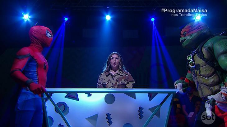 Programa da Maisa estreia no SBT mostrando ser sacode que as tardes de sábado da TV precisavam