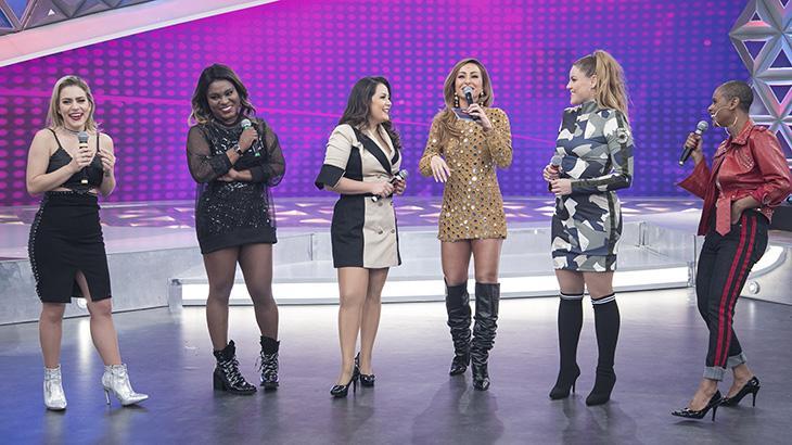 """Após \""""quebrar a internet\"""" em programas da Globo, Rouge grava o \""""Programa da Sabrina\"""""""