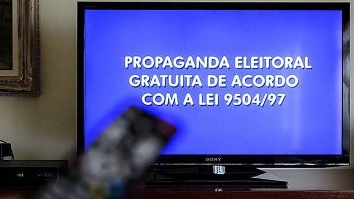 Imagem do anúncio da propaganda eleitoral