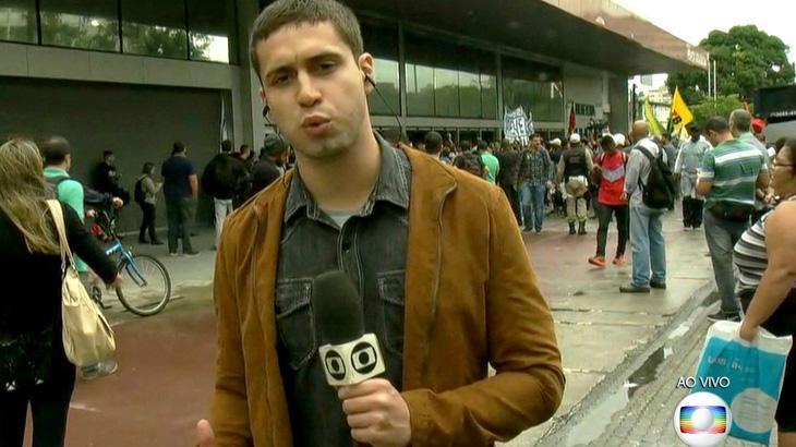 Emissoras utilizam tom crítico em cobertura de greve geral e desagradam manifestantes