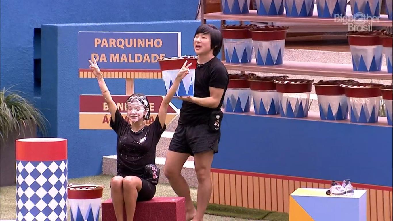 Pyong Lee foi o grande vencedor da Prova do Anjo no BBB20