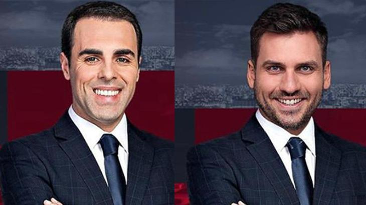 Rafael Colombo e Douglas Santucci