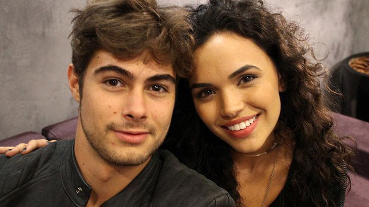 Rafael Vitti e Giovana Cordeiro