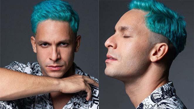 Rainer Cadete de cabelo azul