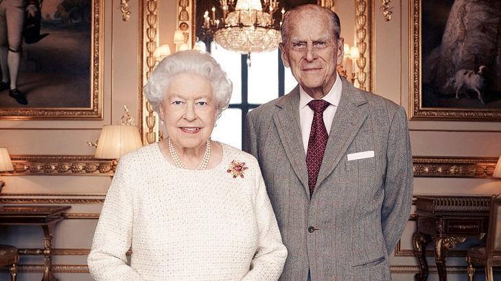 Elizabeth e Philip juntos