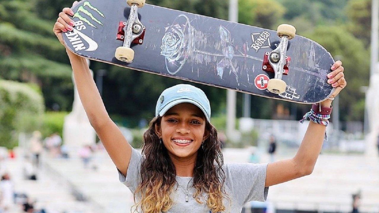 Rayssa Leal no skate
