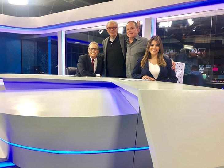 Rede Brasil estreia novo jornal com Hermano Henning na próxima segunda