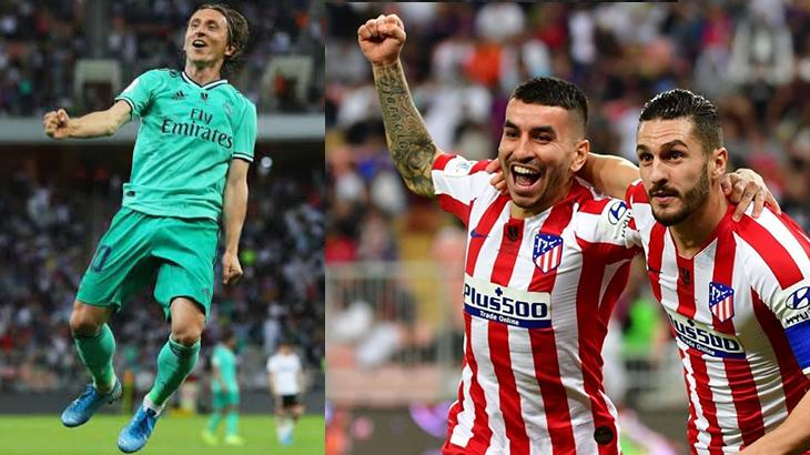 Real Madrid e Atlético de Madrid