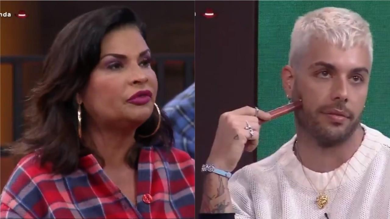 Solange Gomes e Gui Araújo batem boca na formação da Roça em A Fazenda 2021