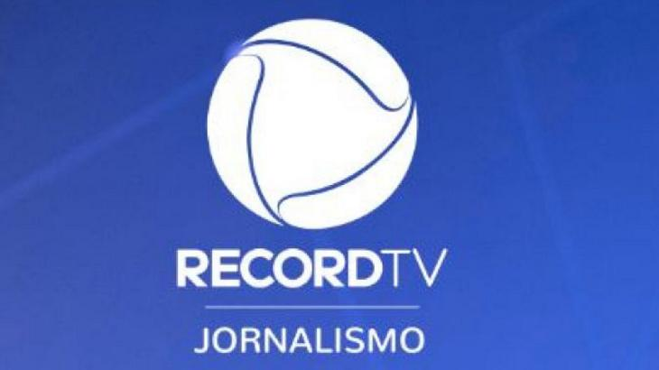 logotipo do jornalismo da Record