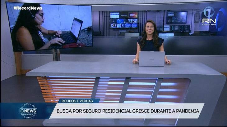 Novo jornal da Record News bate William Waack e supera CNN Brasil