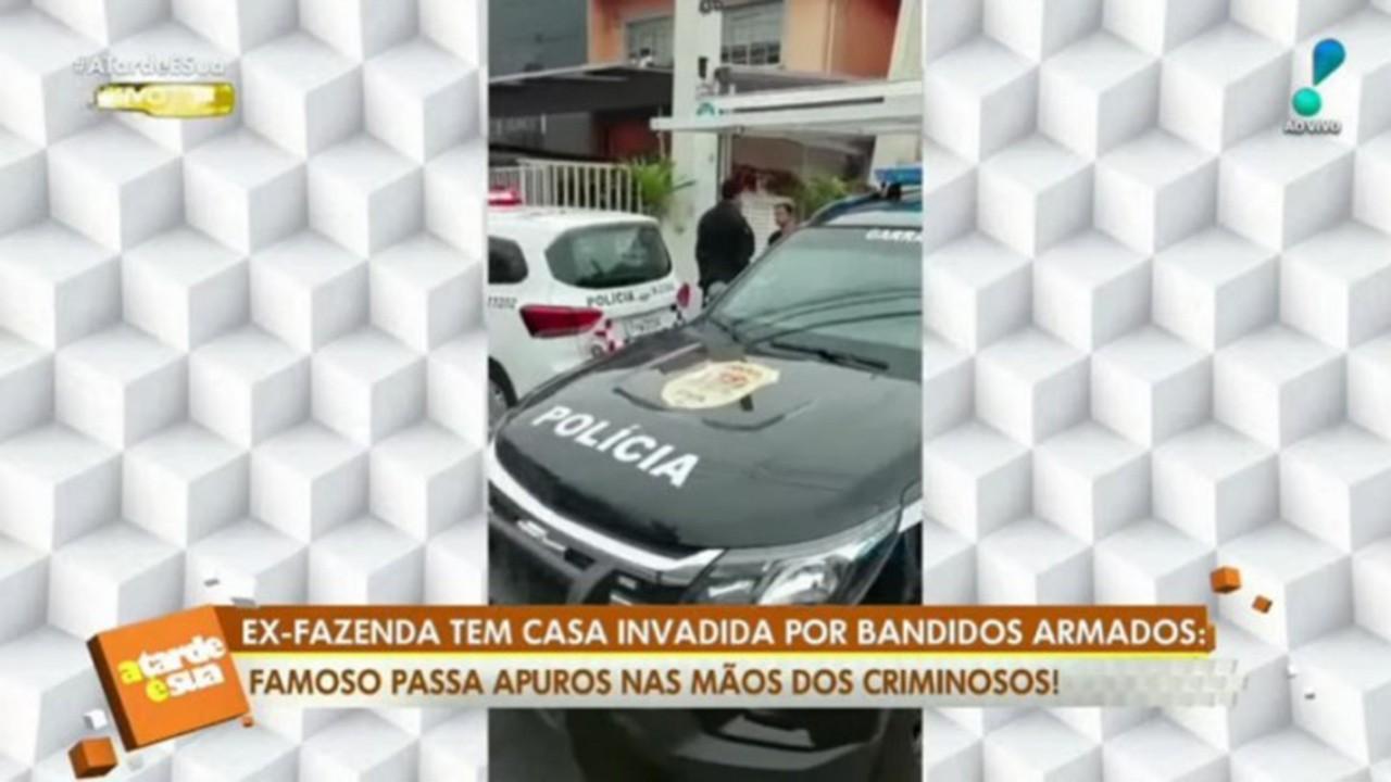 Imagem da casa de Fábio Arruda no programa A Tarde é Sua