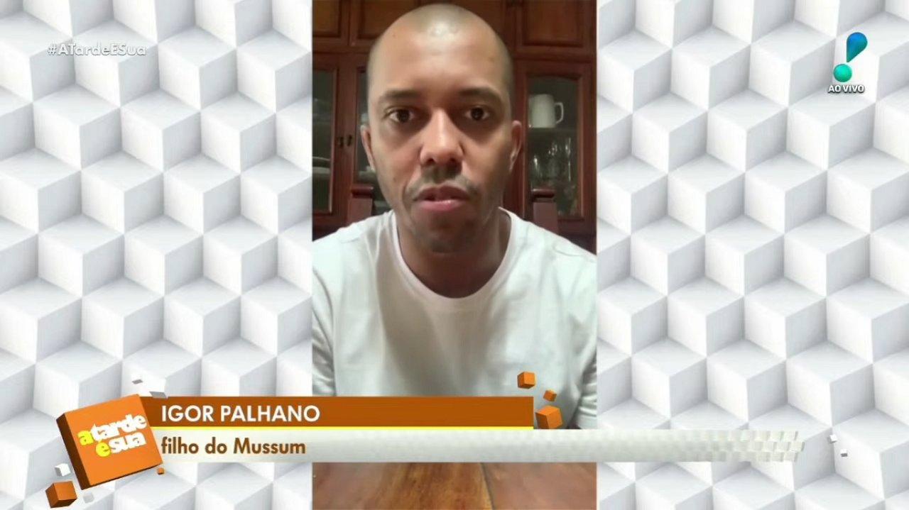Igor Palhano no programa A Tarde é Sua