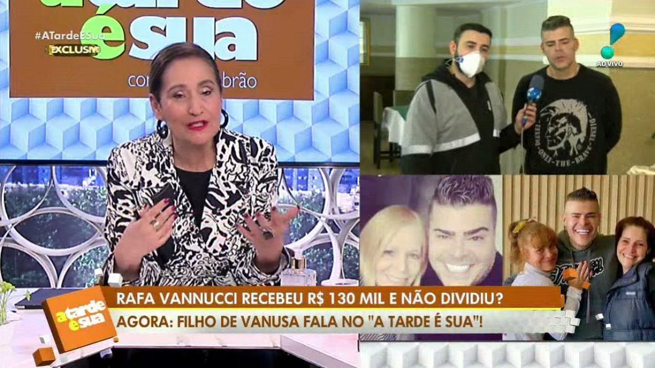 Rafael Vannucci e Sônia Abrão