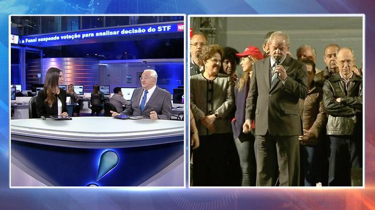 Depoimento de Lula a Sérgio Moro agita redações de telejornais; veja quem saiu na frente