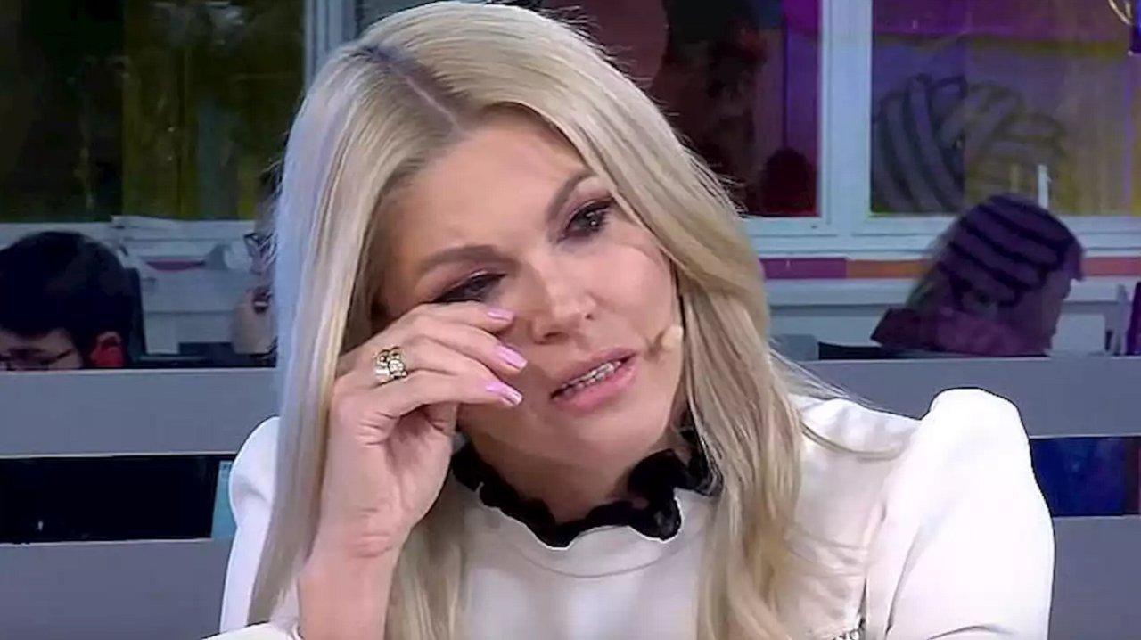 Val Marchiori chorando