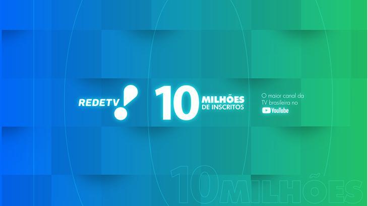 RedeTV! 10 milhões