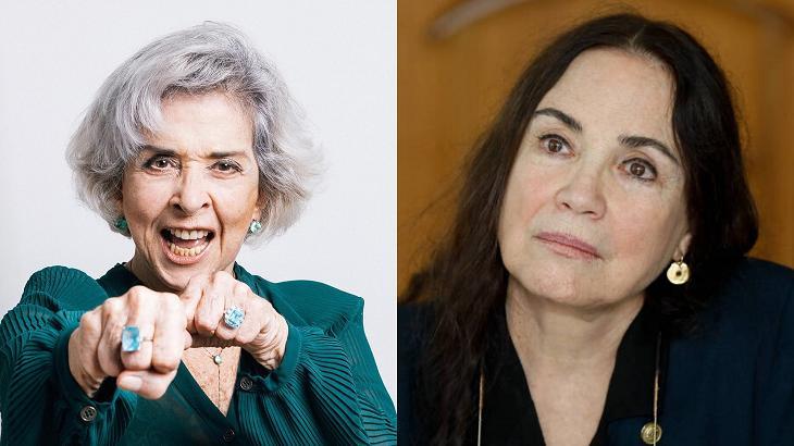 Betty Faria e Regina Duarte