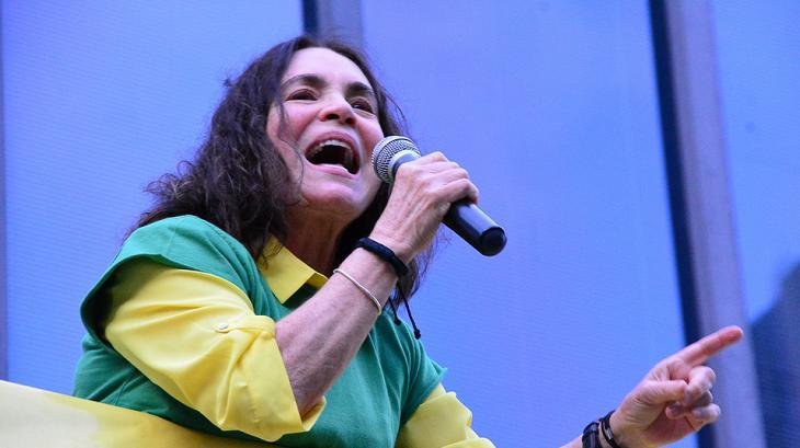 De treta com Carolina Ferraz a entrevista bomba na CNN: Regina Duarte no Governo Bolsonaro