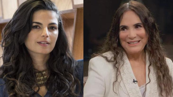 Emanuelle Araújo e Regina Duarte