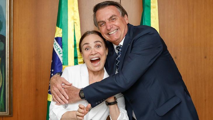 Regina Duarte saiu do Governo Bolsonaro muito criticada