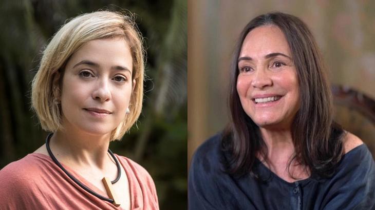 Paloma Duarte e Regina Duarte