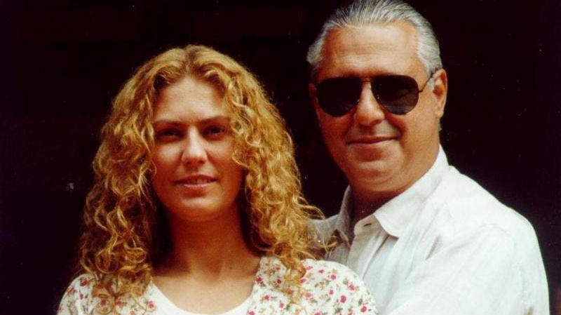 Patrícia Pillar e Antonio Fagundes em O Rei do Gado