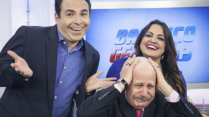"""Motivo de enxaqueca para a Globo, apresentadores do \""""Balanço Geral SP\"""" rechaçam ego elevado por liderança"""