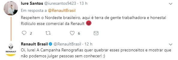 Renault tenta quebrar preconceitos em campanha, chama nordestinos de preguiçosos e é detonada