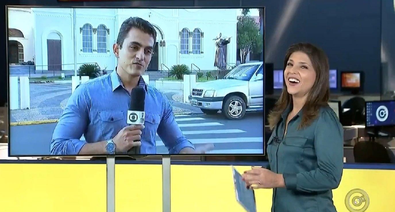 Mortal, casamento e demissão: Os momentos mais inusitados dos repórteres da Globo