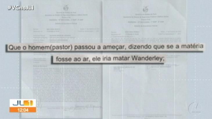 Repórter da Globo é mantida refém em igreja e registra BO