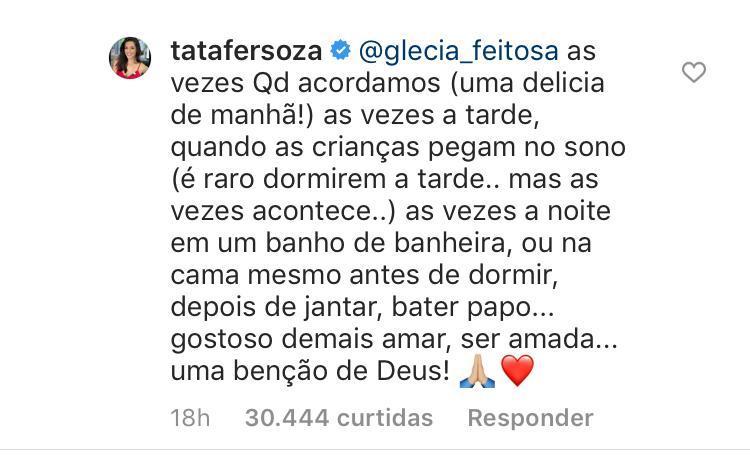 """Thaís Fersoza detalha horários de sexo com Michel Teló: \""""Uma bênção\"""""""