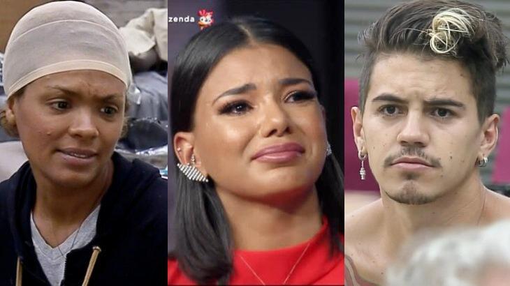 Lidi Lisboa, Jakelyne Oliveira e Biel em momentos no reality