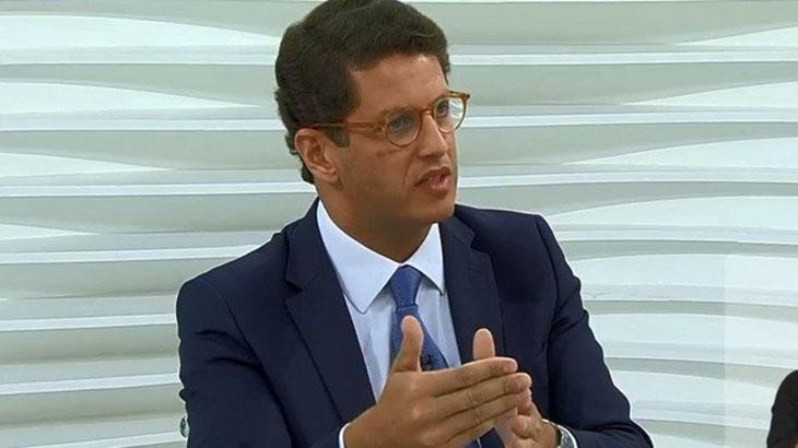 O Ministro Ricardo Salles no Roda Viva