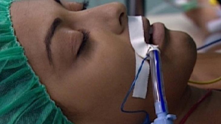 Juliana Paes como Rita em cena da novela Laços de Família, em reprise na Globo
