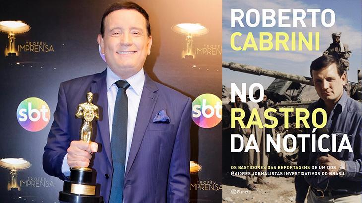 """Roberto Cabrini lança livro que demorou cinco anos: """"Me sentia exaurido"""""""