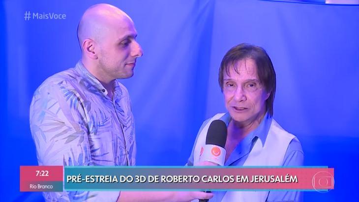 """Ana Maria Braga implora pela presença de Roberto Carlos no Mais Você: \""""Saudades\"""""""