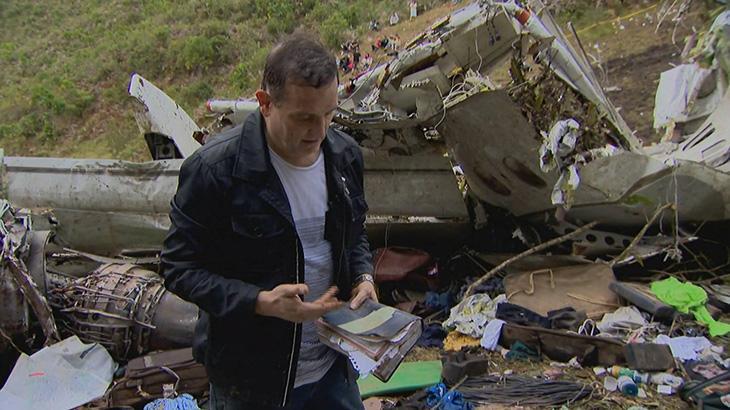 Um ano depois, Roberto Cabrini relembra tragédia da Chape e fala sobre desafios da cobertura