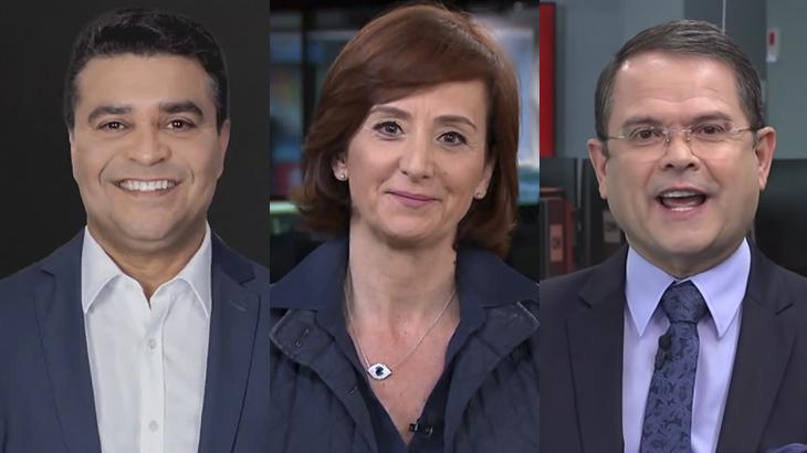 Roberto Nonato, Thais Heredia e Sidney Rezende: as vozes da CNN Rádio