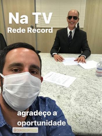 Rodolfo, ex-dupla de ET, fecha com a Record para novo programa de Geraldo Luís