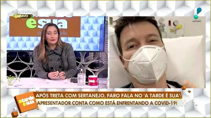 Rodrigo Faro falou com o programa A Tarde é Sua